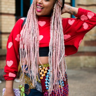 6 Cool Festival Makeup And Hair Looks Lysa Africa Magazine Colored Braids