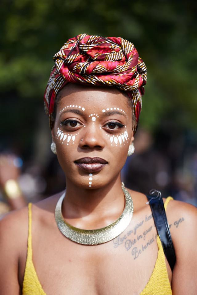 6 Cool Festival Makeup And Hair Looks Lysa Africa Magazine Face Paint