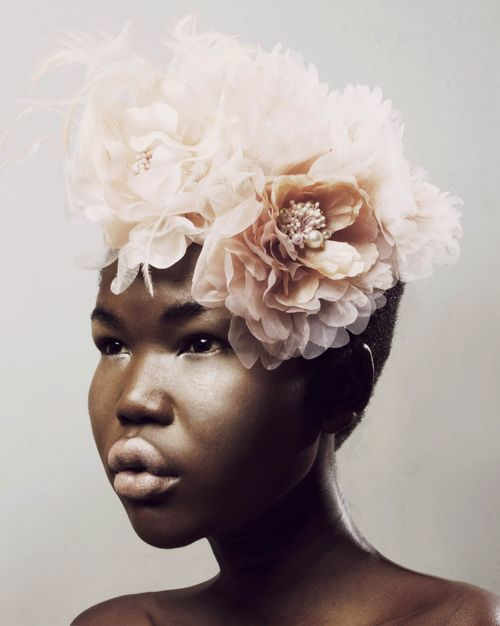 Flowers In Her Hair And Magic Secrets In Her Eyes! Flower Crowns Flower Queen Lysa Africa Magazine
