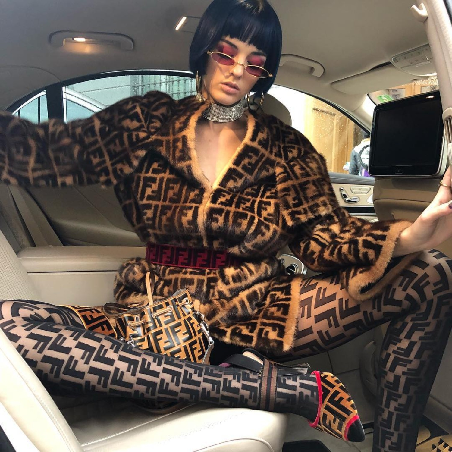Are We In It For The Labels Or For The Art? Fendi Head To Toe Gucci Lysa Africa Magazine Gucci Belt