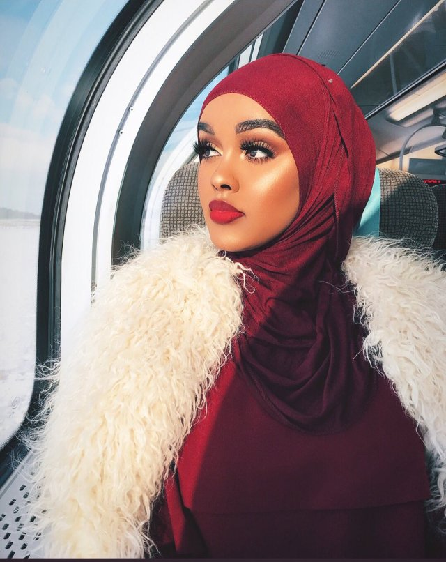 Eid Mubarak | Eid Beauty Inspiration Looks Lysa Africa Magazine Edna Abdiaziz