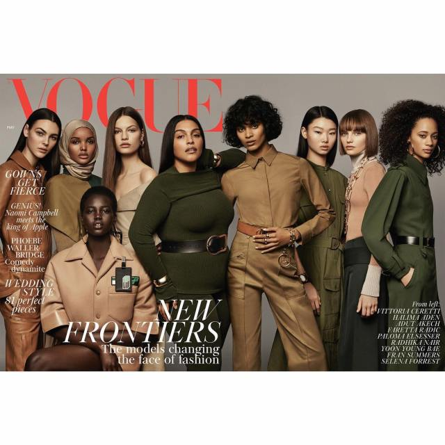 This Is Me And I'm Not Editing It For Your Benefit   Paloma Elsesser Plus Size Model Lysa Africa Magazine Vogue