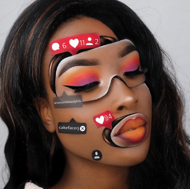 Optical Illusions | Makeup Artists Taking Their Work To The Next Level - Lysa Magazine Romanie Jade