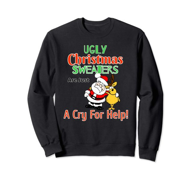 Christmas Sweaters; Yay Or Nay? - Lysa Magazine Ugly Christmas Sweater Christmas 2018