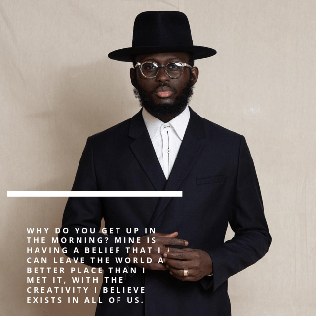 Menswear Tips We're Learning From Steven Onoja - Lysa Magazine clean and well cut suit