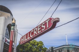 hillcrest sign, hillcrest, hillcrest neon sign, san diego neon signs, san diego neighborhoods, san diego, san diego photos, urban photography
