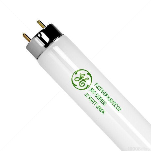 GE Lighting F32T8/SPX30/ECO2 Fluorescent Lamp Case of 36