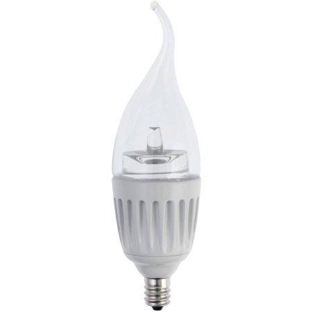 Soft White LED Chandelier Bulb PACK of 6 E12 Base