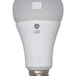 GE 13W A21 Bulb - Soft White - 3/PK