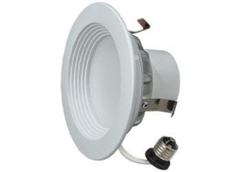 """4"""" LED Downlight 8.5W Cool White 6/PK"""