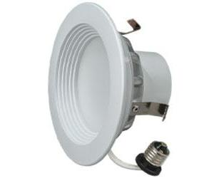 "4"" LED Downlight 8.5W Cool White 6/PK"
