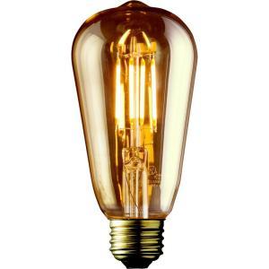 5 Watt Edison LED Bulbs, Amber
