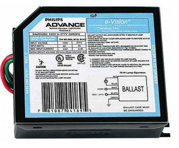Advance IMH70GLF Metal Halide Ballast