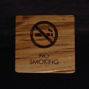 επιτραπέζια σήμανση no smoking