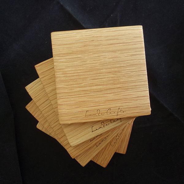 ξύλινο σουβέρ τετράγωνο