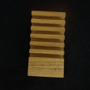 βάση ξύλινη για σουβέρ 6 τεμαχίων