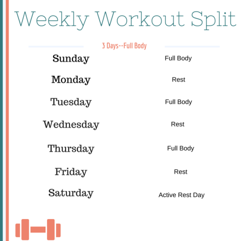 Weekly Workout Split