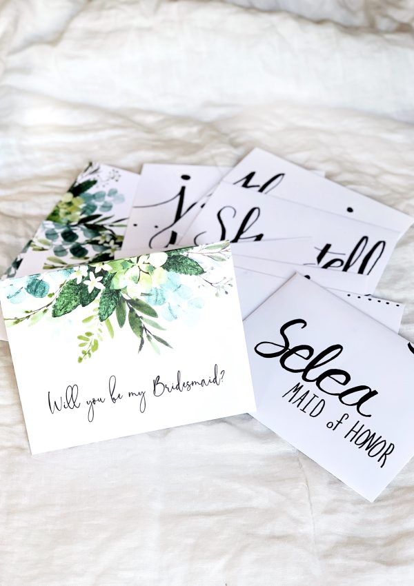 How I Asked: Bridesmaid Proposal Edition