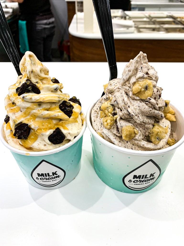 Milk & Cream Cereal Bar - Lyssy in the City