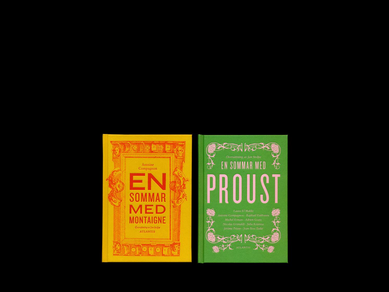 En sommar med Proust, en sommar med Baudelaire, En sommar med Montaigne