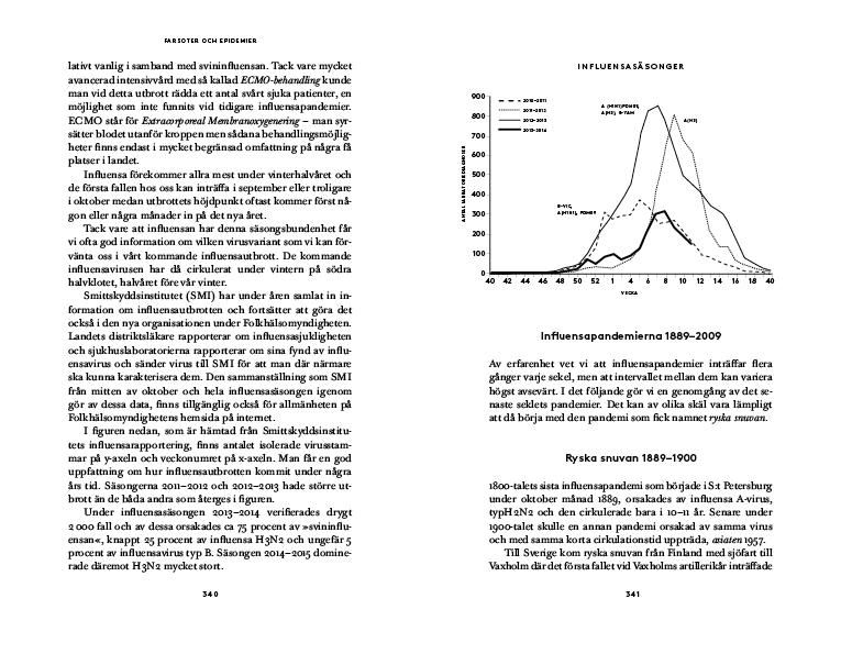 Farsoter och epidemier – en historisk odyssé från pest till ebola av Per-Erik Åbom,