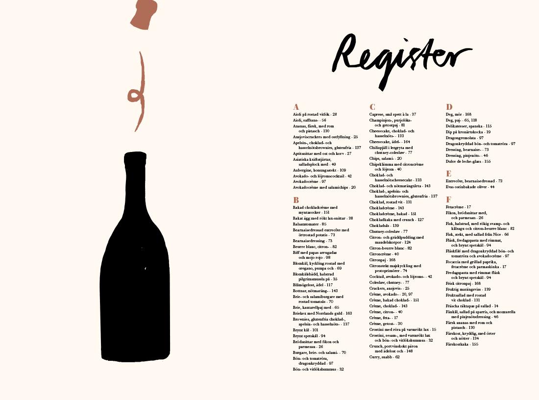Hela helgen med mat och vin