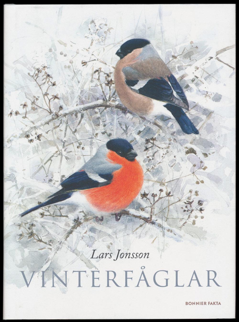 Vinterfåglar illustrerad och skriven av Lars Jonsson
