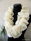 Marvellous Ruffle Lace Scarf