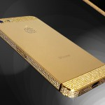 Goldstriker iPhone 5 i guld och briljanter