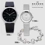 Vinn klocka eller armband från Skagen med Smycka