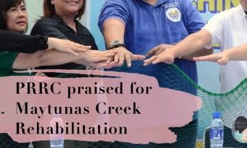 PRRC praised for Maytunas Creek Rehabilitation