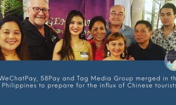 WeChatPay, 58Pay and Tag Media Group merged in the Philippines to prepare for the influx of Chinese tourists