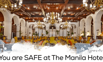 You are SAFE at The Manila Hotel
