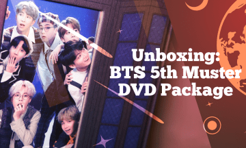 """[VLOG] BTS (방탄소년단) 5th Muster """"Magic Shop"""" DVD Package Unboxing 