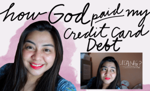 [VLOG] How God Paid My [100k+] Credit Card Debt