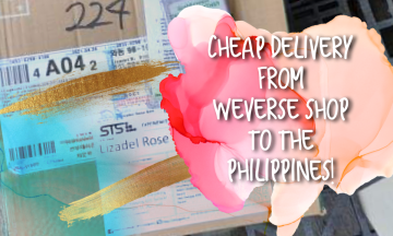 [VLOG] Cheap Delivery from WEVERSE Shop to the Philippines | Tutorial & Experience