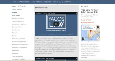 Yacos Law Video Testimonials