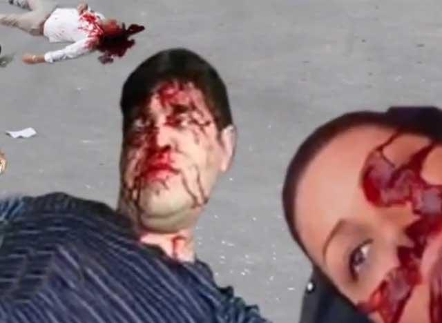دو نمونه از آدم کشی و جنایت های مزدوران بسیجی تحت فرمان مجتبی خامنه ای جنایتکار کم نظیر رژیم آخوندی
