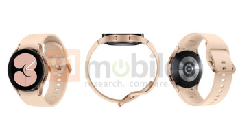 Major Galaxy Watch 4 renders leak shows off new design in all colors 2