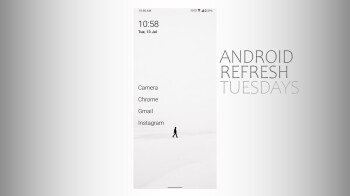 Android Refresh Tuesdays – Minimalist theme 2
