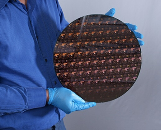 Chips are cut out of wafers like the 11.8-inch wafer used for 5nm chips - World's first 2nm chip is produced by IBM