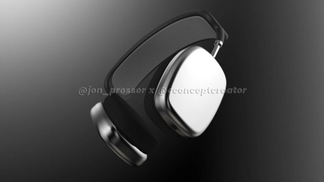 A lawyer is reportedly seeking information about this AirPods Max render made by Concept Creator for tipster Jon Prosser in 2020 - Apple allegedly threatens legal action on Chinese tipsters leaking info about unreleased devices