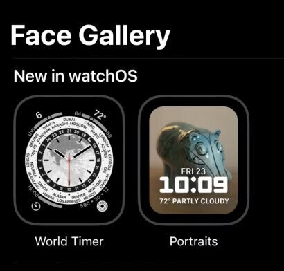 Two new Watch Faces coming to the Apple Watch is watchOS 8 - The new Portraits Watch Face for Apple Watch is available now with the release of watchOS 8 beta 2