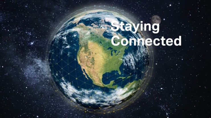Iridium coverage. - Samsung Galaxy, make space for Apple Satellite: iPhone 13 wants to save your life... soon