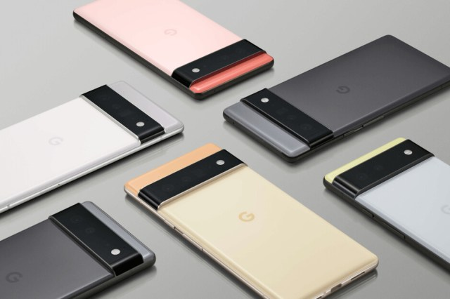 Google seem very optimistic about Pixel 6 sales