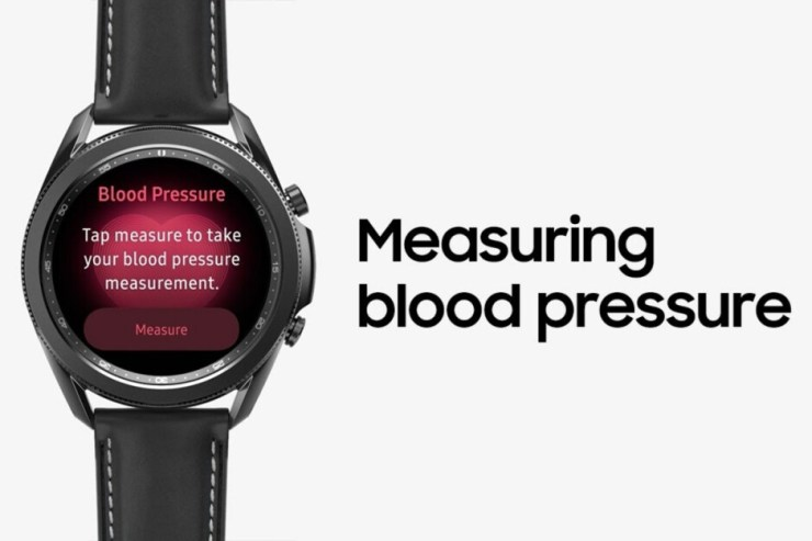 Blood pressure measuring demo on the Galaxy Watch 3 - The Apple Watch Series 7 will not come with a blood pressure sensor after all