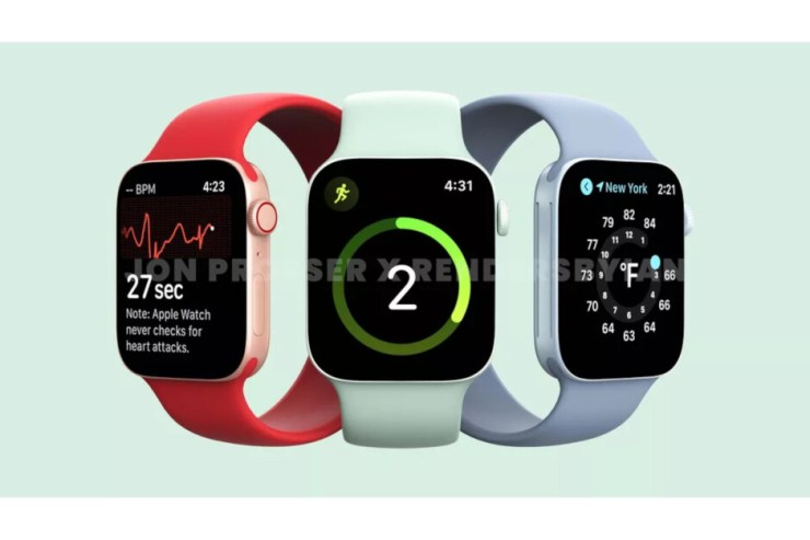 Apple Watch 7 may not fit your band from Apple Watch 6