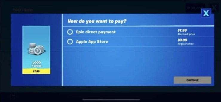 Epic's Direct Payment Platform violated the terms of its App Store contract with Apple - Epic files appeal of judge's decision in lawsuit versus Apple