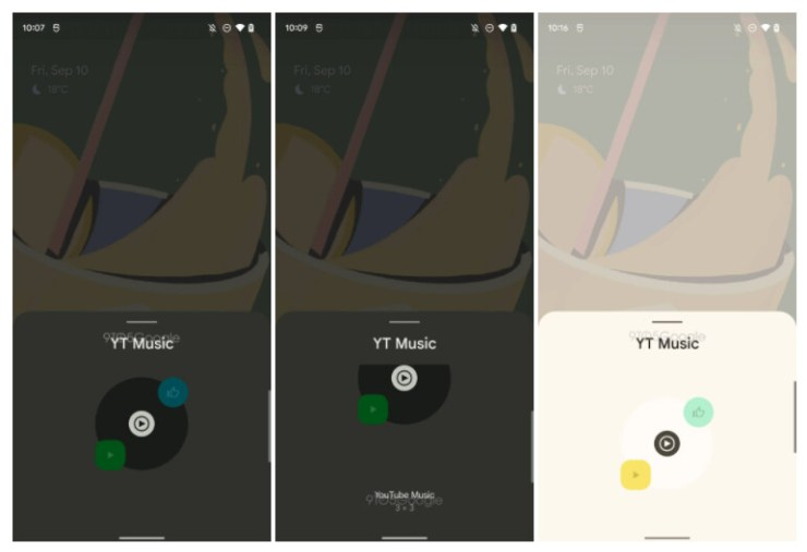 Image source -9to5Google - YouTube Music widget is getting the Material You treatment
