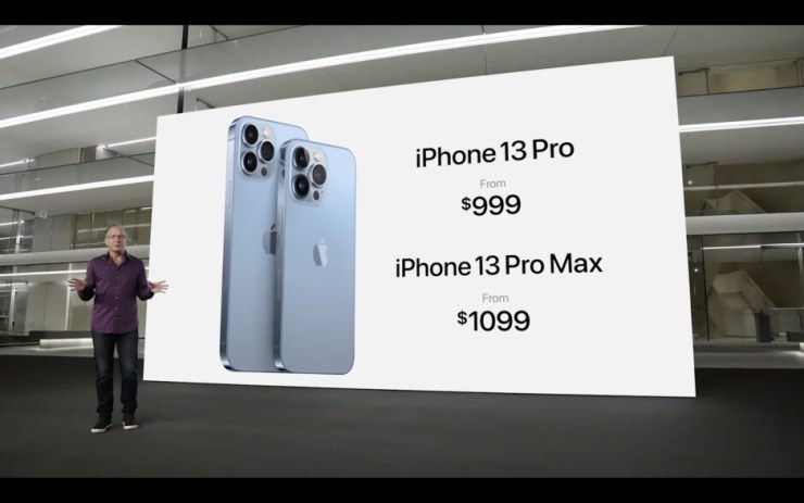 The iPhone 13 Pro models also keep the same pricing from last year. Shipping start September 24 - iPhone 13 5G trade-in price and carrier deals already announced